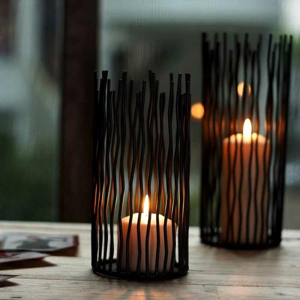 super-Ideen-für-Kerzenständer-Dekoideen-für-die-Wohnung Kerzenständer