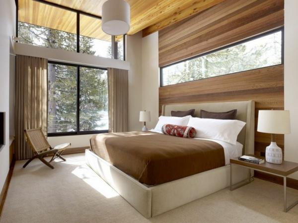 Modernes schlafzimmer design  Modernes Schlafzimmer einrichten - 99 schöne Ideen! - Archzine.net