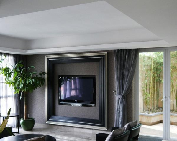 super-moderne-gestaltung-des-fernsehwands-interior-design-ideen-schwarz