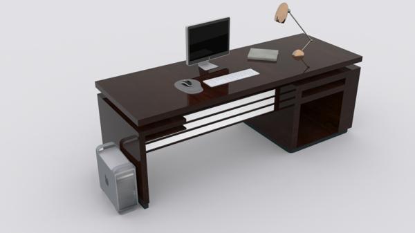 computertisch 33 praktische und moderne modelle. Black Bedroom Furniture Sets. Home Design Ideas