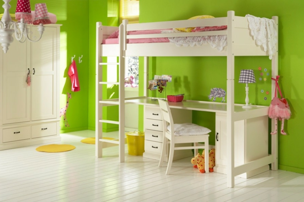 super-schönes-Kinder-Hochbett-Interior-Design-Ideen-für-das-Kinderzimmer
