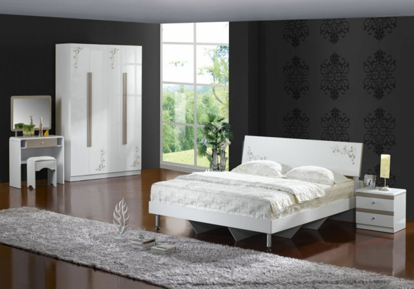 super-schönes-Schlafzimmer-einrichten-wunderbare-Interior-Design-Ideen-Modernes Schlafzimmer