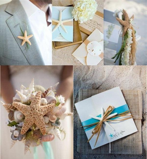 Hochzeit am strand ein romantischer traum - Tischdeko strand ...