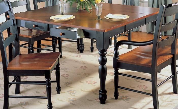 Der tisch mit schublade modern und praktisch for Kleiner schwarzer tisch