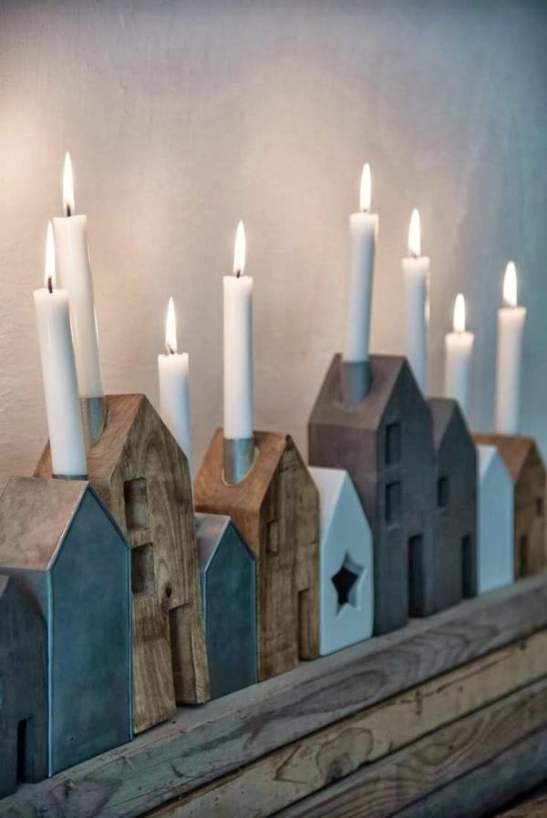 tolle-Ideen-für-Kerzenständer-Häuschen-aus-Holz