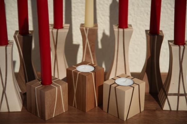 tolle-Ideen-für-Kerzenständer-aus-Holz-Kubus-Interior-Deko