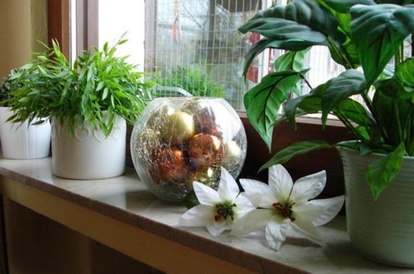 unechte-pflanzen-für-ein-imerrgrünes-fenster