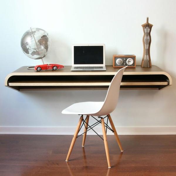 Computertisch 33 praktische und moderne modelle for Schreibtisch holz design