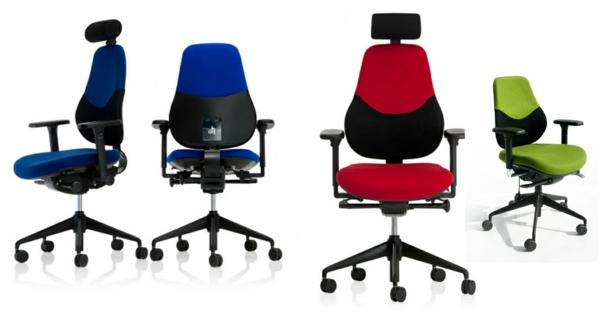 verschiedene-farben-bürostühle-ergonomisch-design-idee