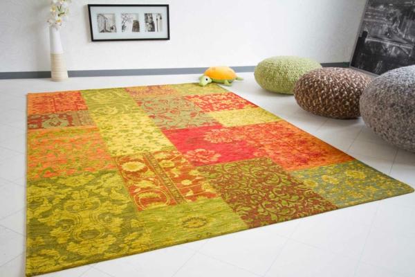 Patchwork teppich eine besonderheit f r sich - Mobel de teppiche ...