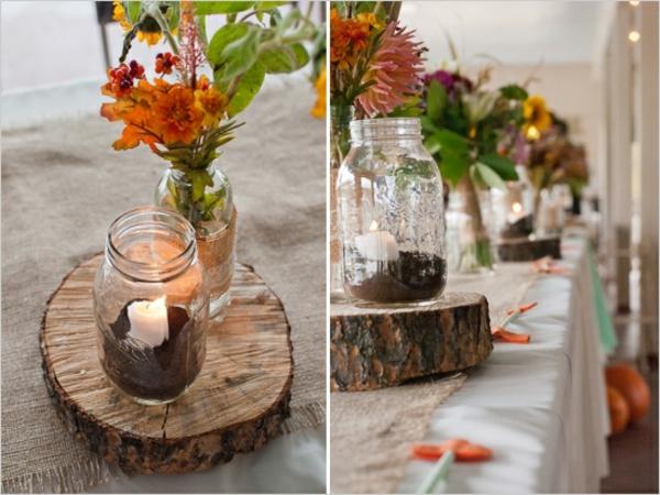 dekoration-aus-holz-natur-hochzeit-orange-rot