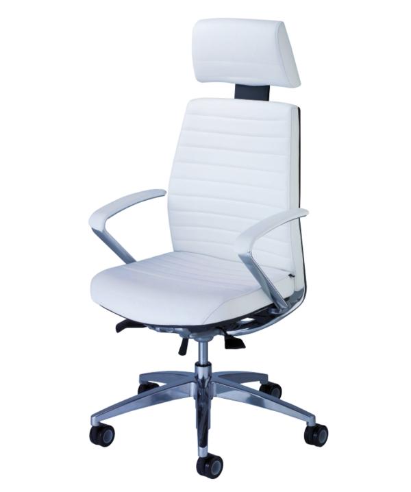 weiße-bequeme-Bürostühle-mit-schönem-Design-Interior-Design-Ideen-