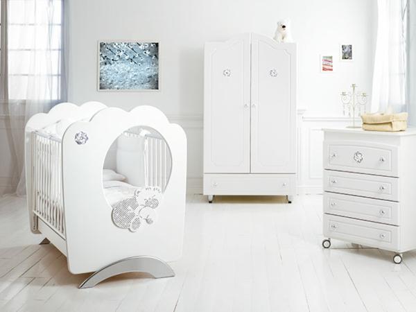 Babybett designs im königlichen stil | Moderne Konstruktion