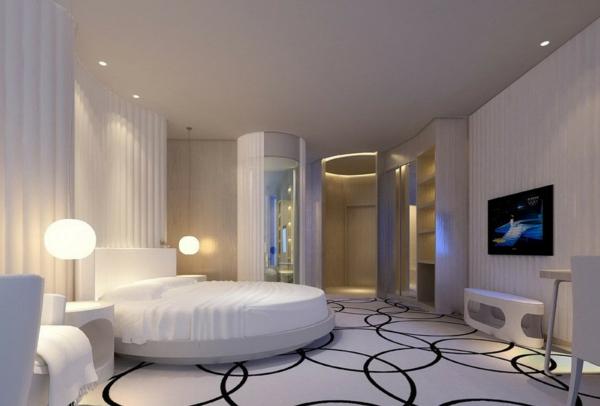 Schlafzimmer Einrichten Inspiration : weißesSchlafzimmereinrichtenIdeenzurInspiration