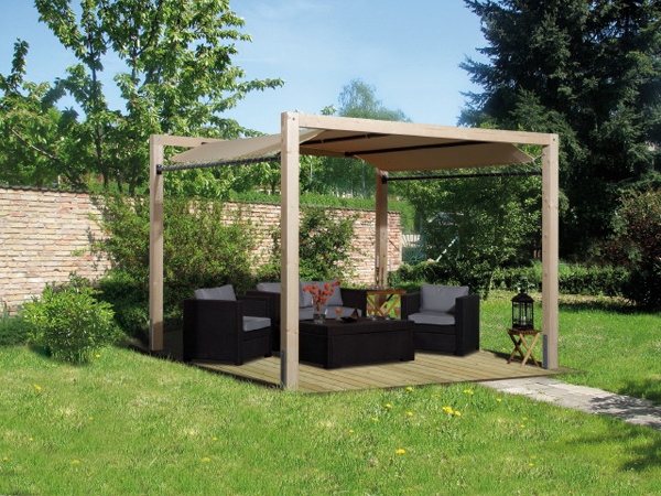 gartenpavillion faszination f r einen noch edleren. Black Bedroom Furniture Sets. Home Design Ideas