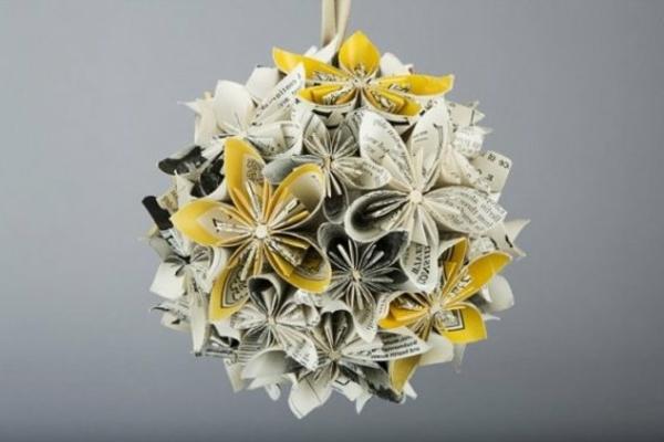 origami-blume-kugel-gefaltet