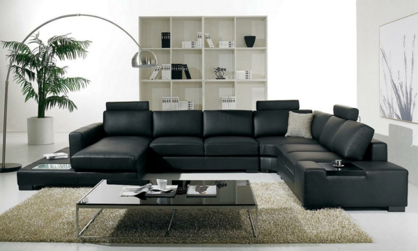 Stunning Wohnzimmer Couch Leder Gallery - House Design Ideas