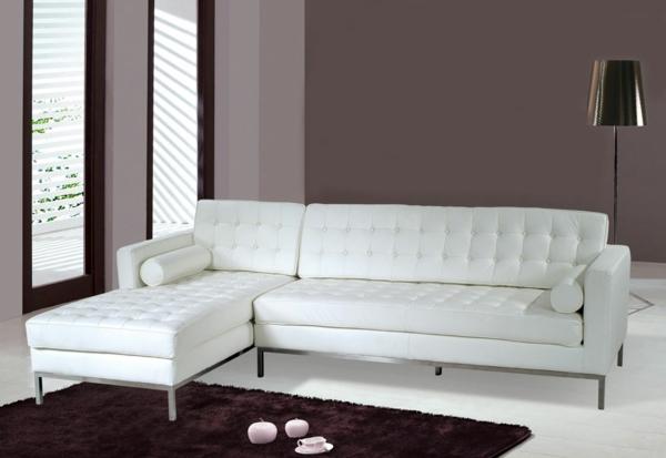 Ledersofa mit fantastischem design 83 beispiele for Wohnzimmer designer