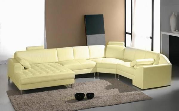 wohnzimmer-einrichten-ledercouch-design--