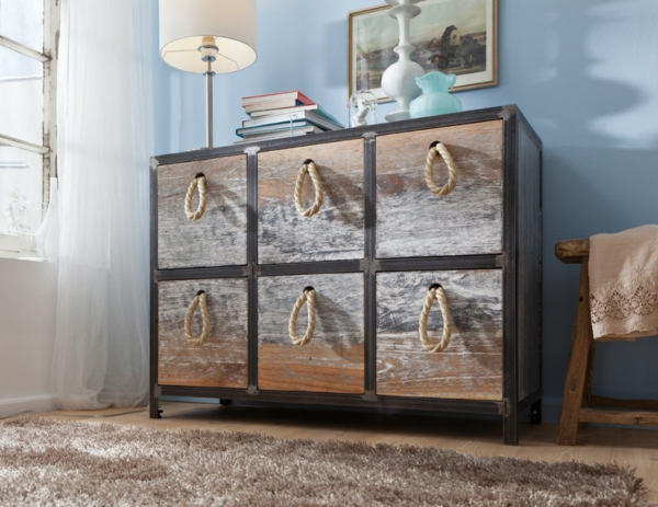 kommode im vintage stil. Black Bedroom Furniture Sets. Home Design Ideas
