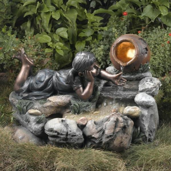 sehr schönes modell vom springbrunnen für garten