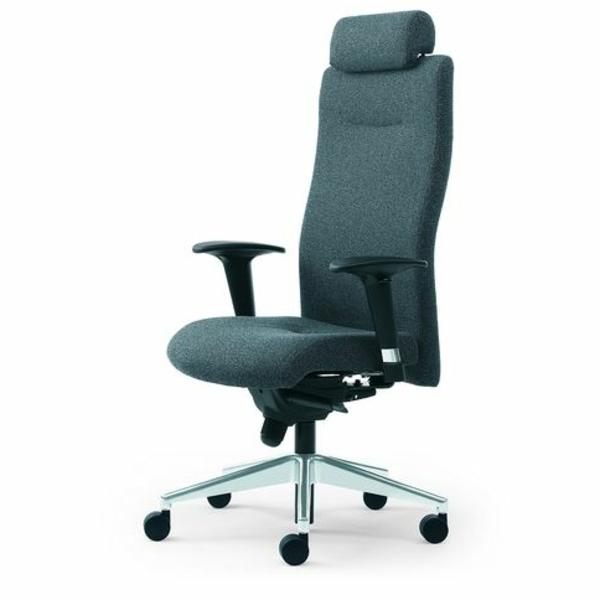 wunderbare-Bürostühle-mit-schönem-Design-Interior-Design-Ideen-in-Grau