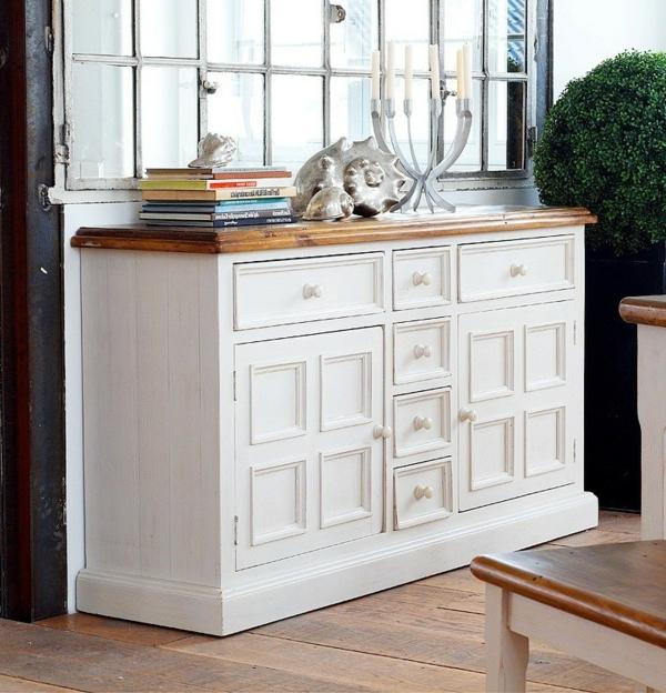 wunderbare-Kommode-Vintage-Weiß-effektvolles-Design