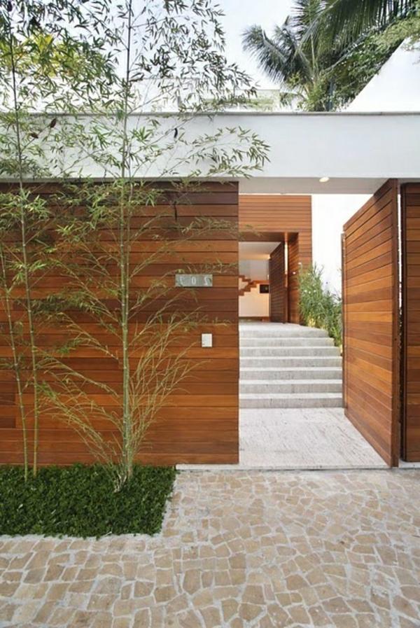 wunderbare-gestaltung-moderne-ambiente-eingangstür-aus-holz