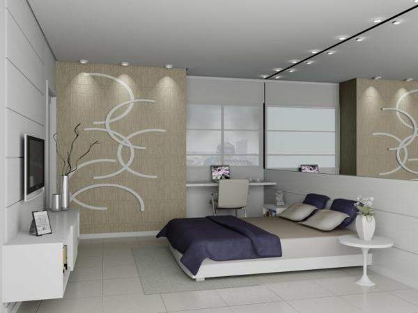 wunderbare-moderne-Ambiente-im-Schlafzimmer