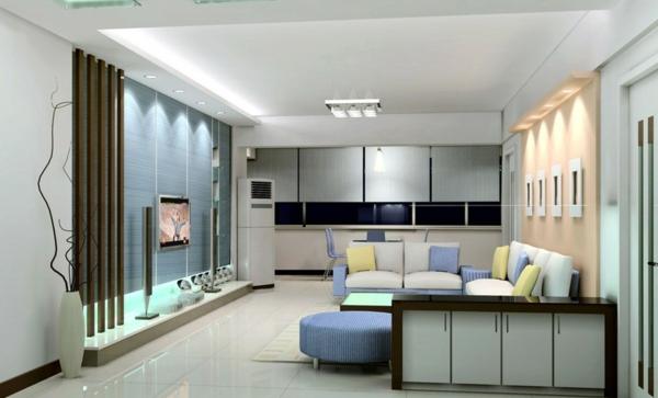 moderne fernsehwand f r einen noch angenehmen filmabend. Black Bedroom Furniture Sets. Home Design Ideas