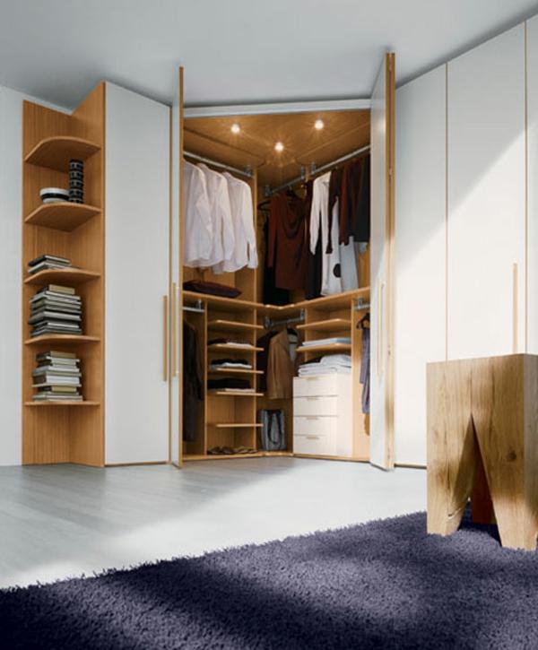 charming schlafzimmer eckschrank #1: Eckschrank im Schlafzimmer? Eine kluge Idee!