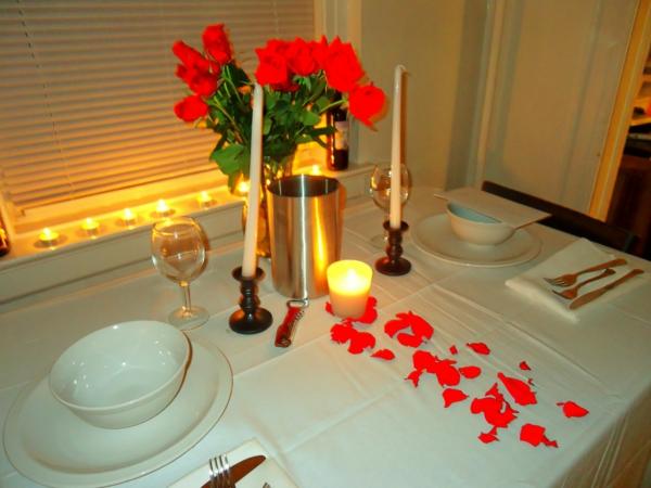Romantische Überraschung zum Valentinstag ! - Archzine.net