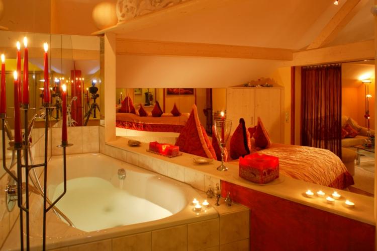 Romantische Ideen Pünktlich Für Valentinstag! - Archzine.net Badezimmer Romantisch