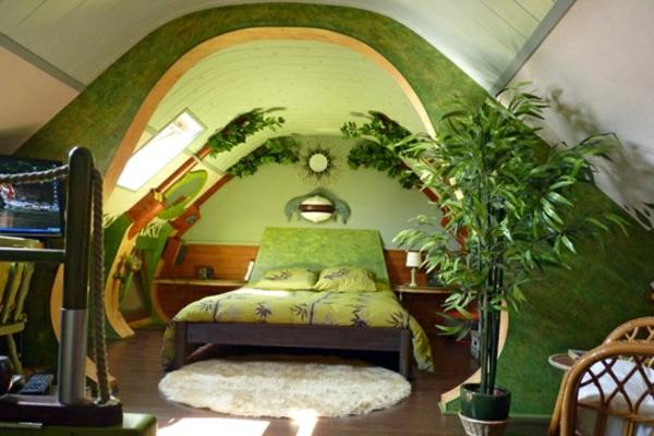 40 inspirierende bilder von natur deko for Romantische zimmer deko