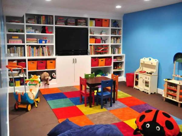bunte Teppiche - cooles kleines kinderzimmer