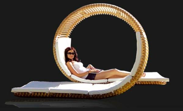 romantischeliebe inspiration -  sehr schönes deseign vom liegestuhl für zwei leute