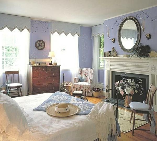 Schlafzimmer Einrichten Landhausstil Modern ~ Raum Haus Mit ... Schlafzimmer Einrichten Landhausstil Modern