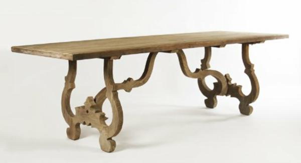barocktisch - schönes hölzernes design