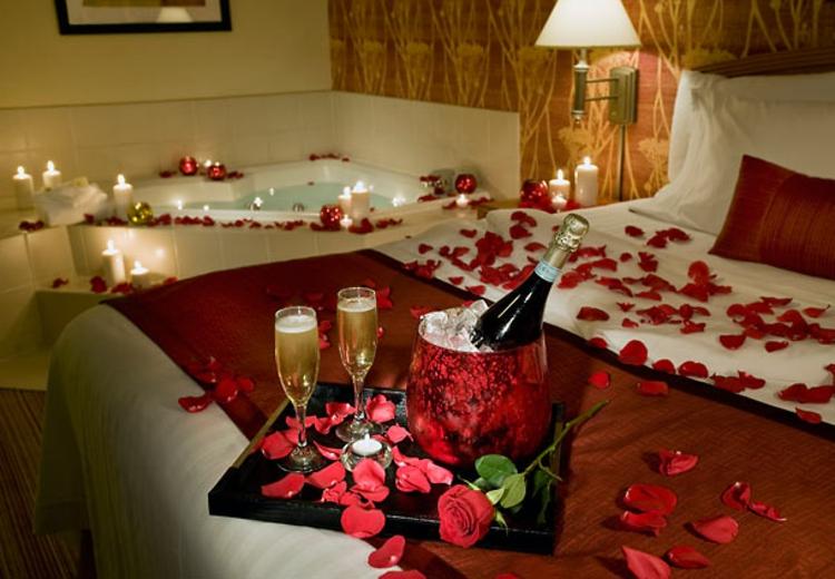 Romantische ideen p nktlich f r valentinstag for Raumdekoration ideen