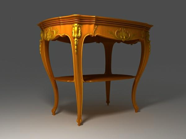 barocktisch - sehr interessantes kleines modell