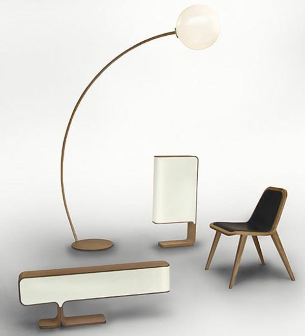 schwedische Möbel - moderne helle farben