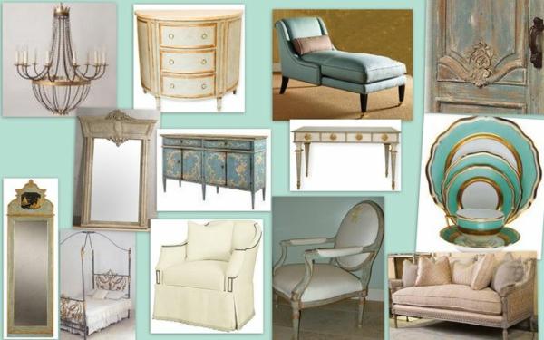 schwedische Möbel - viele verschiedene varianten