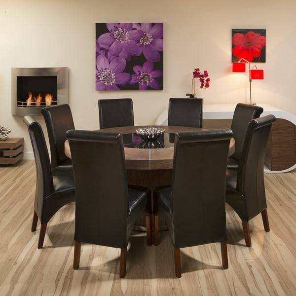 Runde Tische  - im elegantes esszimmer