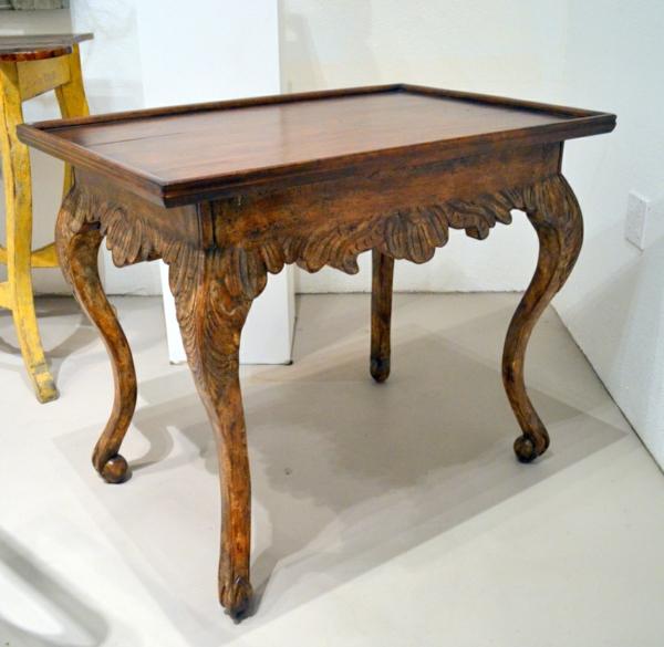 barocktisch - einfaches modell aus holz