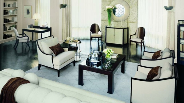 art deco stil bei der einrichtung 36 verbl ffende ideen. Black Bedroom Furniture Sets. Home Design Ideas