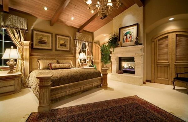 Tapeten Schlafzimmer Landhaus : 70 super Bilder vom Schlafzimmer im Landhausstil!