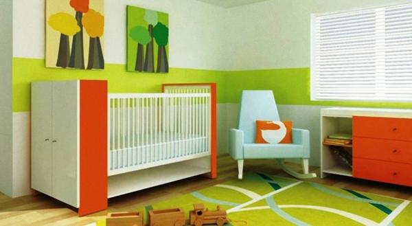 bunte Teppiche - schönes kleines babyzimmer