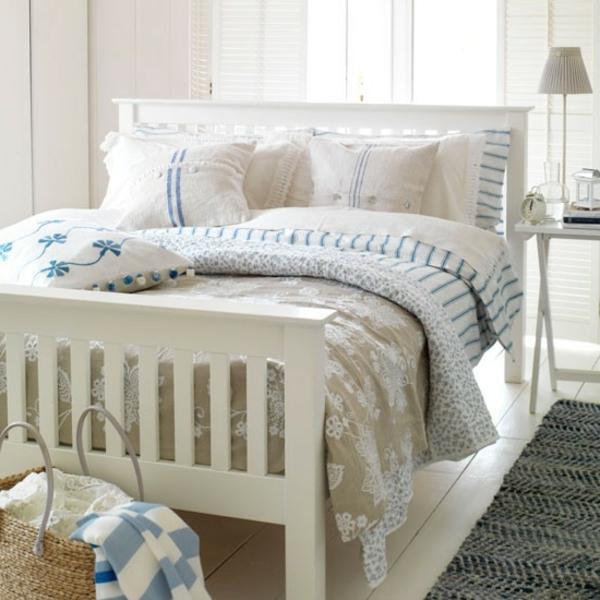 tapete schlafzimmer landhaus. Black Bedroom Furniture Sets. Home Design Ideas