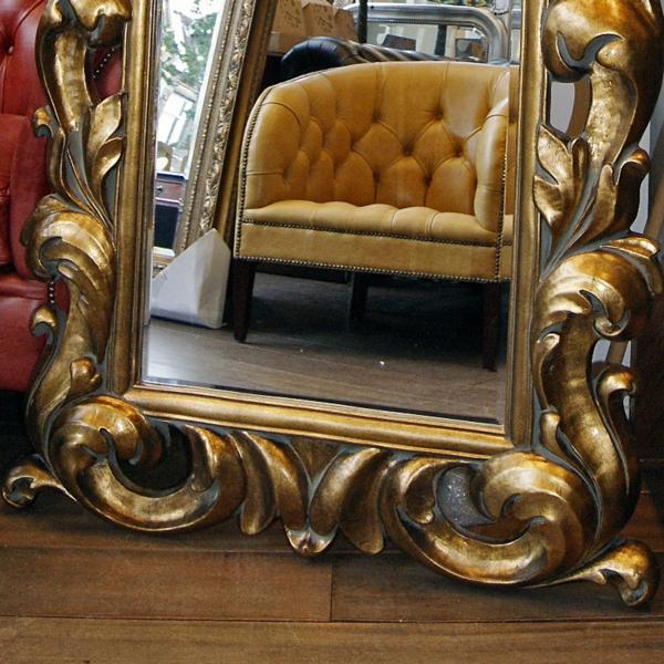 barockspiegel - großzügiges modell