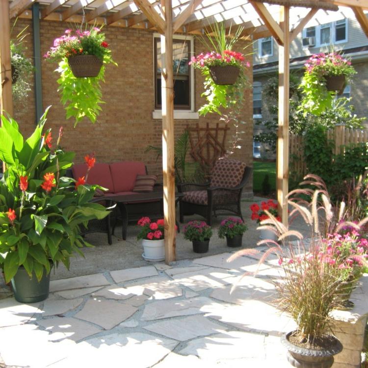 Terrassen Hänge Pflanzen Multicolor Schick Edel Besonders Modern